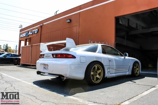 TIME CAPSULE: RARE Modded Mitsubishi 3000GT VR4 Gets Gold Wheels @ ModAuto