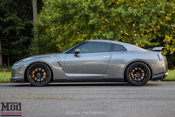 Quick Snap: R35 Nissan GT-R on SSR Executor CV01 Wheels + Toyo Tires