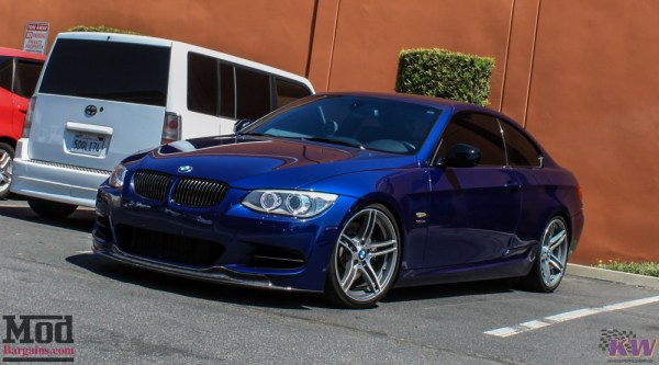 Quick Snap: BMW N54 Mishimoto Oil Catch Can for BMW 335is Installed @ ModAuto