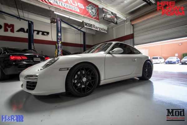 997 Porsche Carrera on HRE FF01 Wheels Gets Low On H&R Springs @ ModAuto