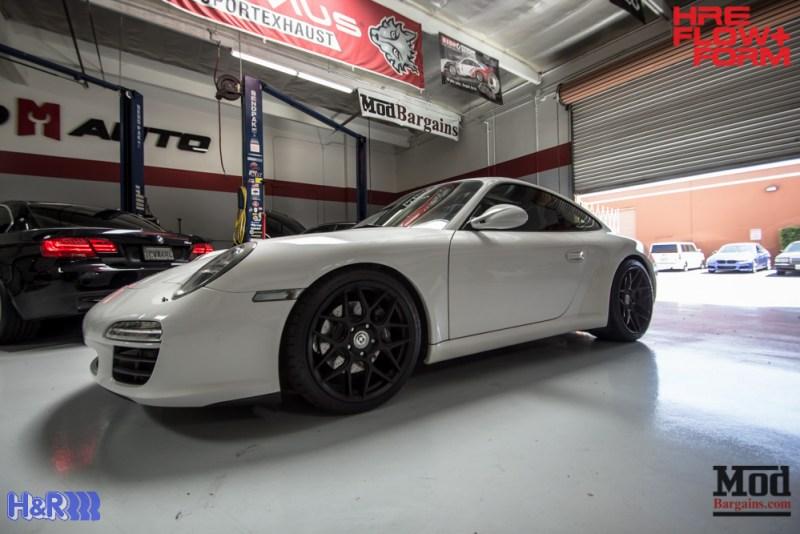 Porsche 997 Carrera HRE FF01 Tarmac on HR Springs (12)