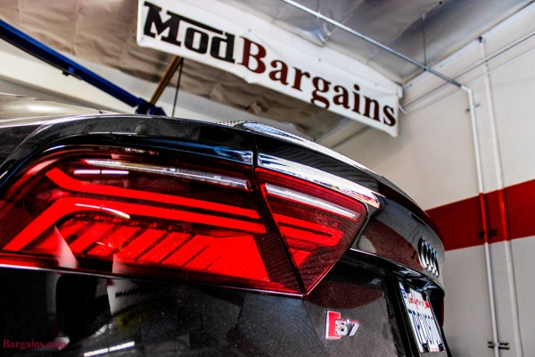 Triple Black C7 Audi S7 Gets AWE Exhaust + HRE FF01 Wheels @ ModAuto