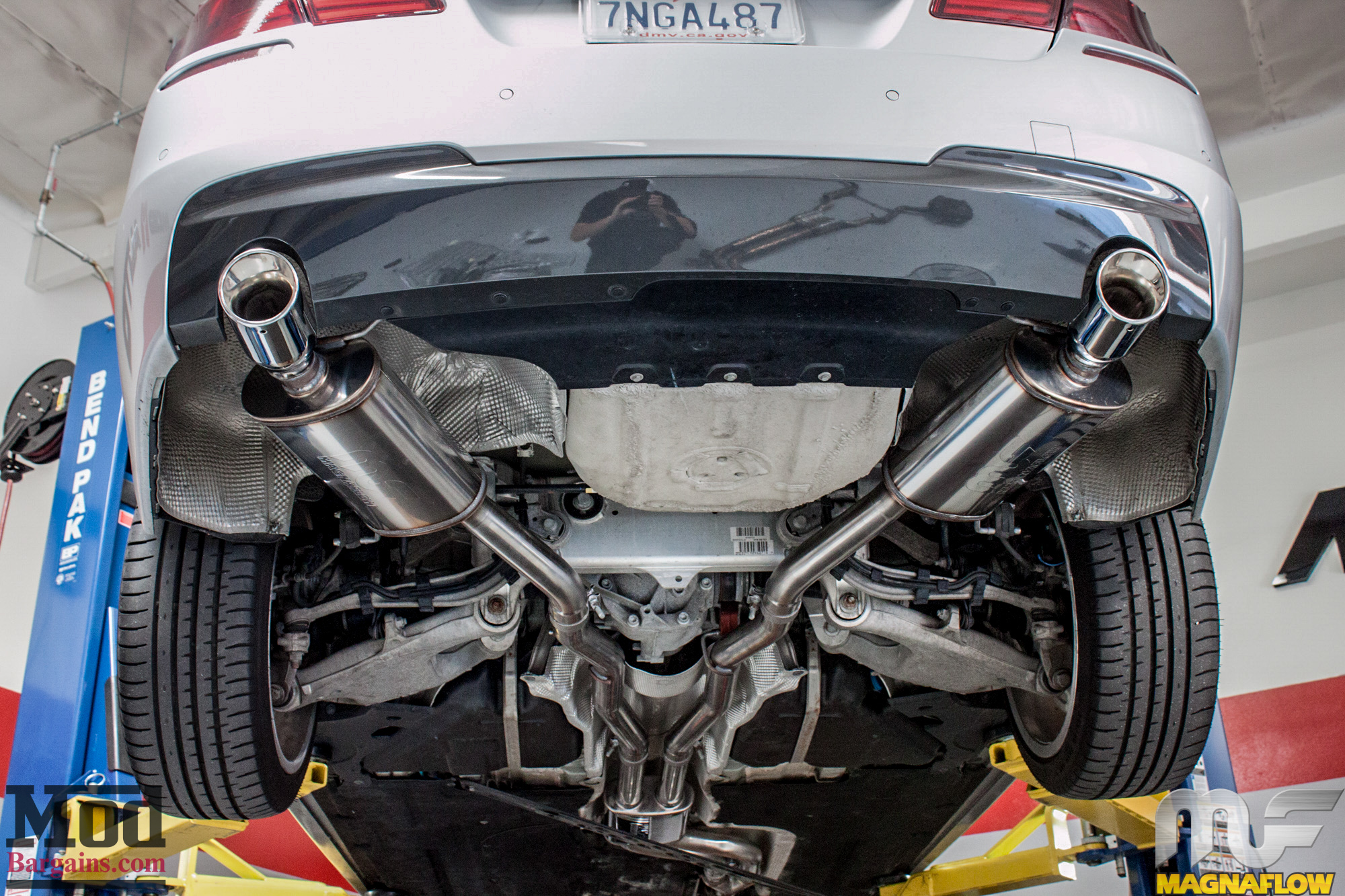 F10 Bmw 535i Magnaflow Exhaust Installed Modauto
