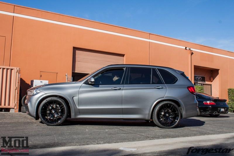 BMW F15 X5 Forgestar F14 MatteBlack (13)