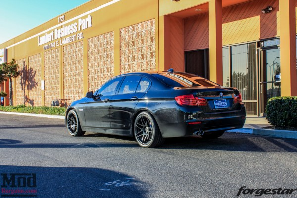 New Wheels, New Look: F10 BMW 528i on Forgestar F14s & Hankook Tires