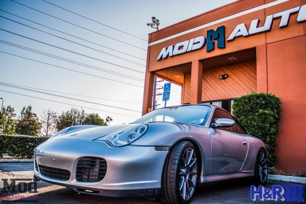 Spotlight: Porsche 996 Gets Fabspeed Intake & Exhaust + Forgestar CF10 Wheels @ ModAuto