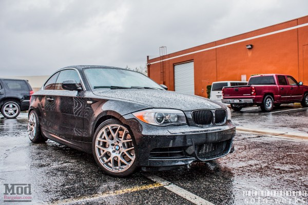 Quick Snap: E82 BMW 135i on Solo-Werks Coilovers & VMR Wheels
