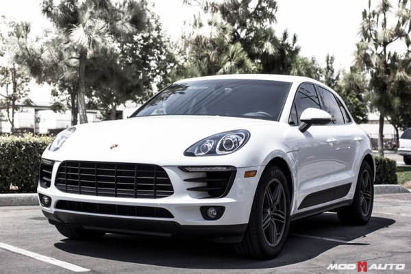 Quick Snap: Porsche Macan S H&R Springs Installed @ ModAuto