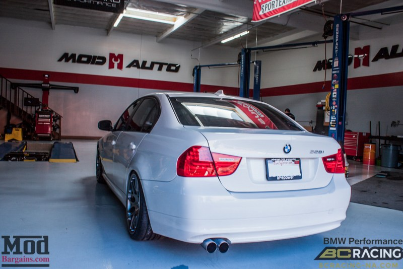 BMW_E90_328i_Sportline_8S_BC_Coilovers_BMWExhaust_