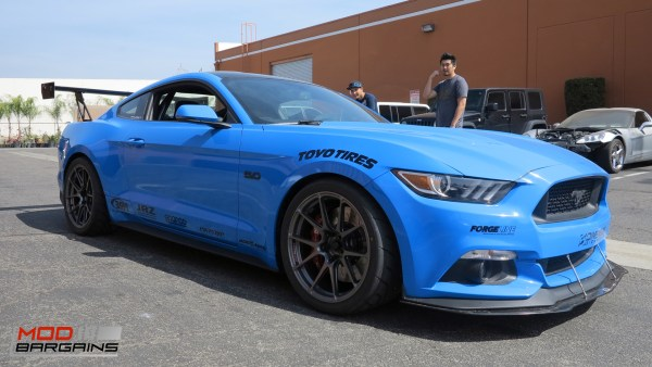 Track-Ready S550 Mustang GT Gets New Forgeline GA1R Wheels & AP Racing Big Brake Kit @ ModAuto