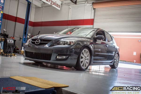 Mazdaspeed3 Gets Low on BC Coilovers @ ModAuto