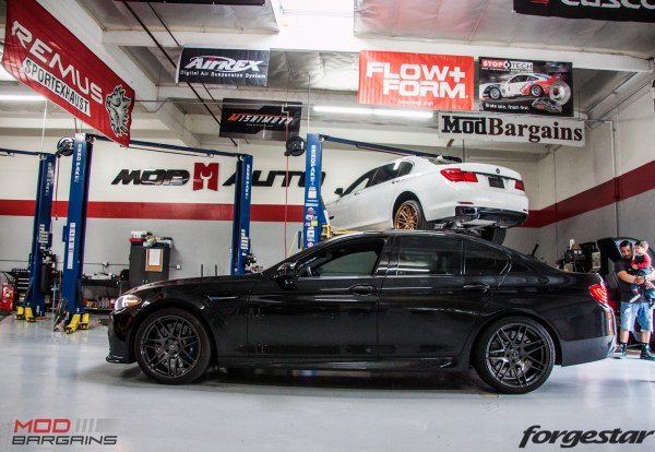 Arno's F10 BMW M5 Gets BRUTAL RPI GTM Non-Resonated Exhaust @ ModAuto