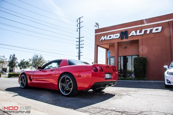 VETTE! : Bob Wallace's CARB-legal Supercharged Corvette C5 visit ModAuto