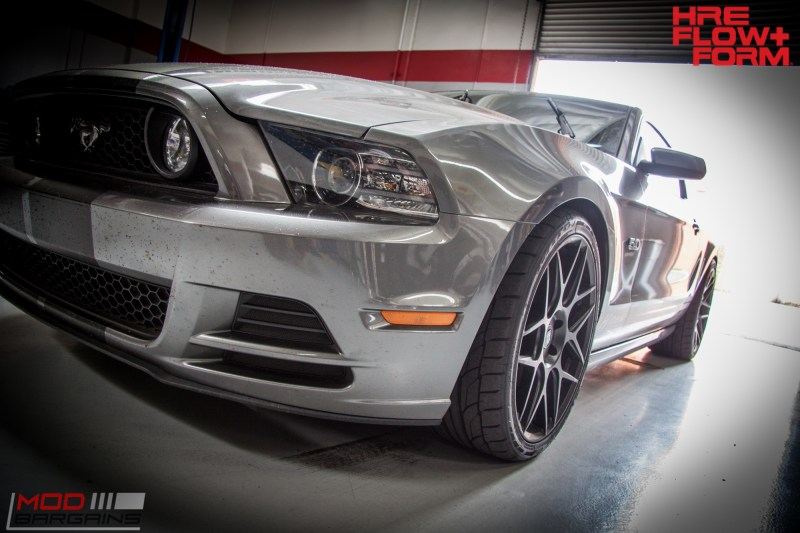 Ford S197 Mustang GT HRE FF01 BC Coilovers WHiteline (7)
