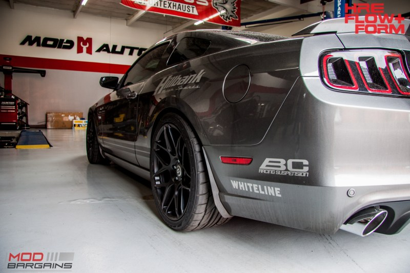 Ford S197 Mustang GT HRE FF01 BC Coilovers WHiteline (9)