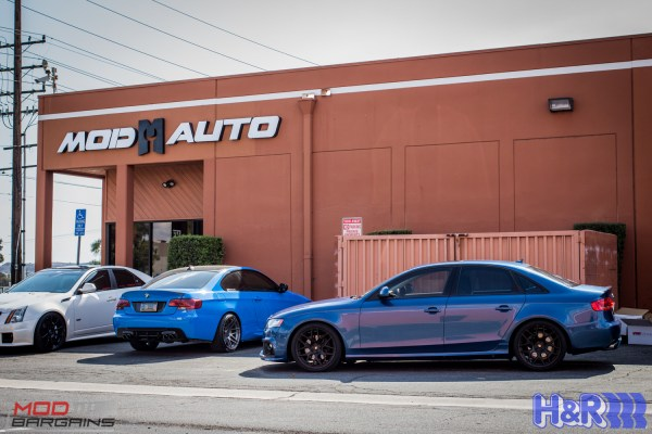 S4 Style: Jason's Gorgeous B8 Audi A4 on H&R Springs
