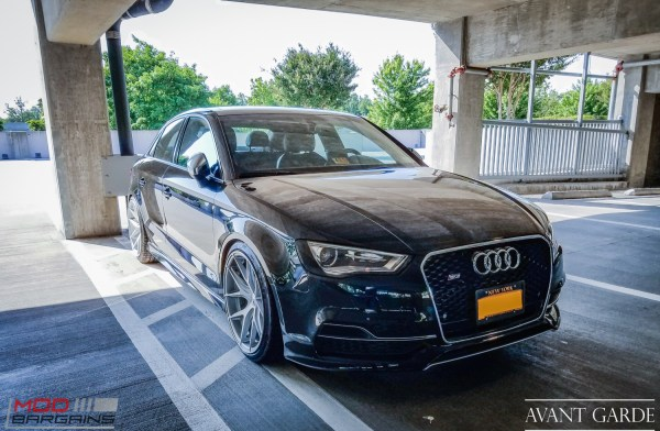 rolling vip audi a6 on avant garde m510 wheels in machined silver with h r springs. Black Bedroom Furniture Sets. Home Design Ideas