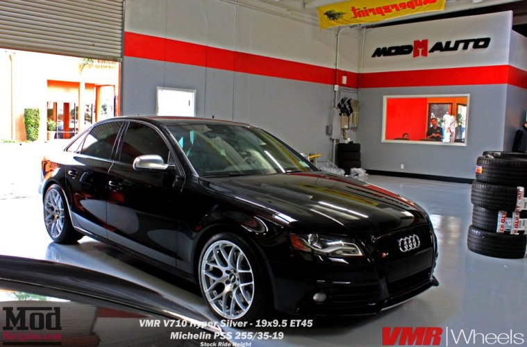 One can't go wrong with VMR's on a B8/B8.5.