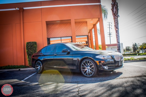 Quick Snap: F10 BMW 550i on 20in Eurosport Monza Wheels