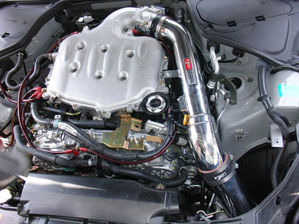 Injen Air intake for 2003-07 Infiniti G35 Coupe SP1993P Installed2
