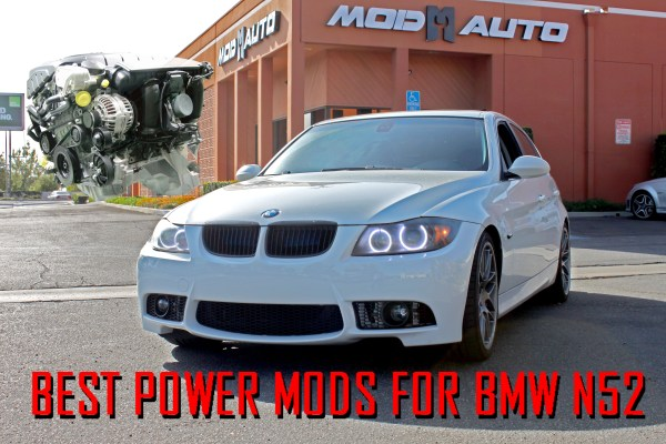 Gain 70hp with 5 Best Power Mods for 2006-13 BMW 328i [E90/E92] 128i [E82] + 528i [E60]