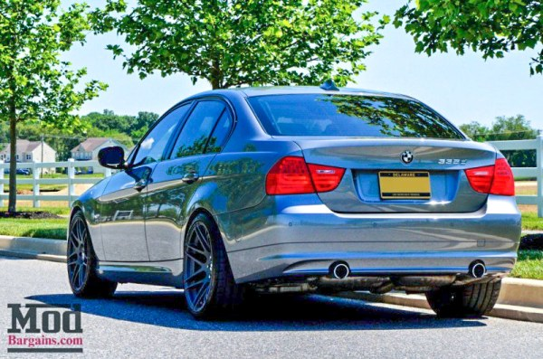 DIESEL POWER: BMW 335d [E90] gets Fresh New Forgestar Wheels