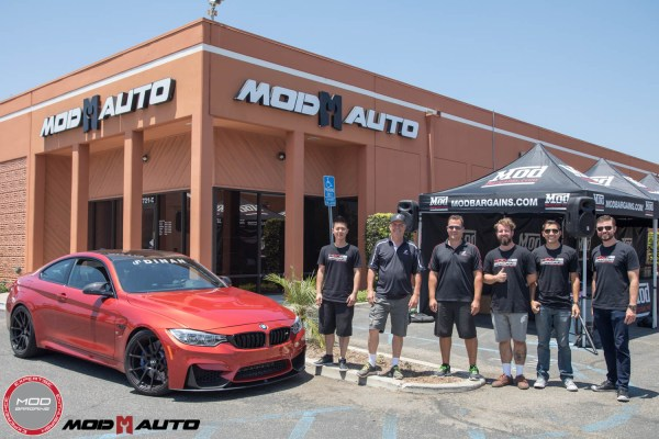 Mod Auto/ModBargains Host DINAN Engineering at the Shop