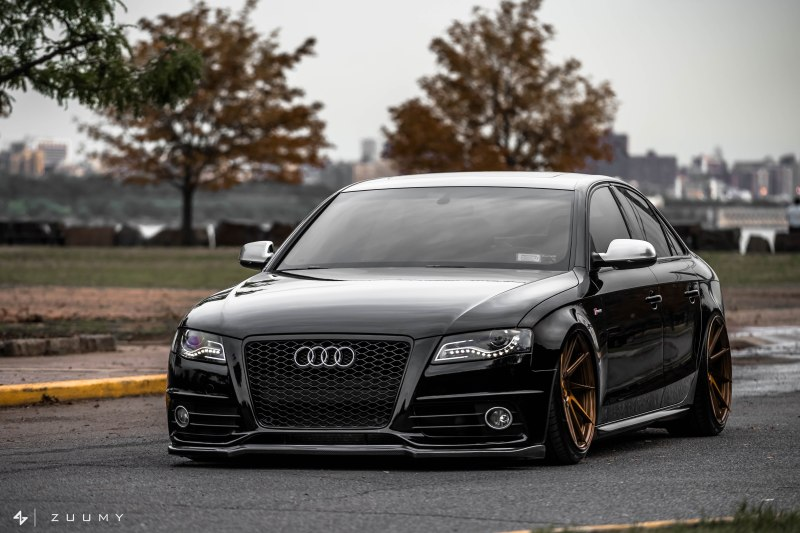 Spotlight Bens Slammed B8 Audi S4 On Ag M621 Wheels
