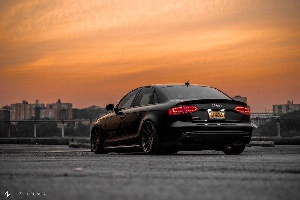 Spotlight: Bens Slammed B8 Audi S4 on AG M621 Wheels