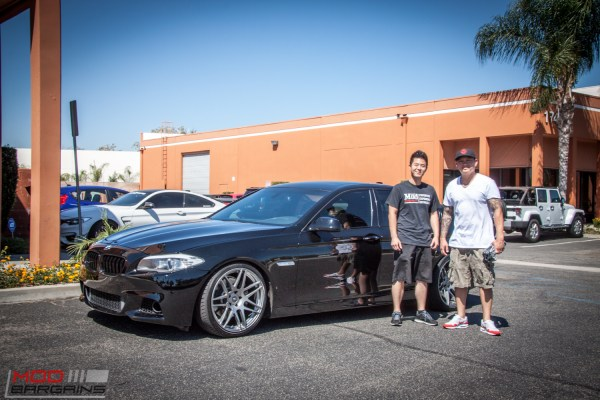 Quick Snap: F10 BMW 535i Stuns on BC Coilovers & 20in F14s