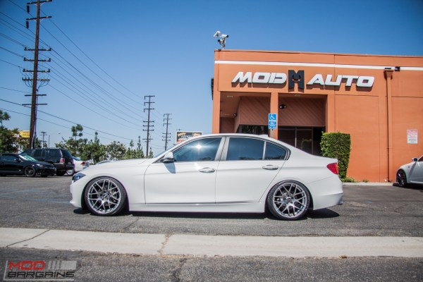 Quick Snap: BMW F30 328i on KW V2 Coilovers Gets VMR V710 Wheels
