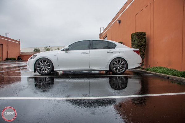 Lowering a Lexus GS on RS-R Springs at ModAuto