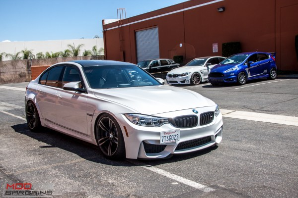 Quick Snap: F80 BMW M3 on H&R Springs