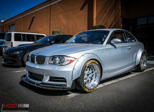 Spotted: Vargas Turbo'd Widebody E82 BMW 135i visits ModAuto