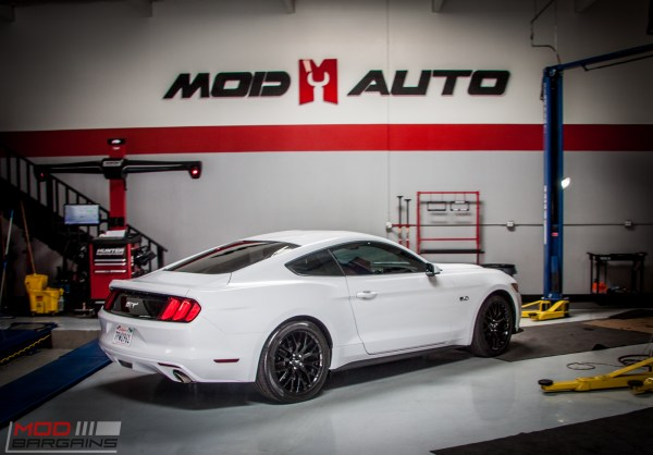 Quick Snap: S550 Mustang GT Gets MBRP Exhaust & Eibach Springs @ ModAuto