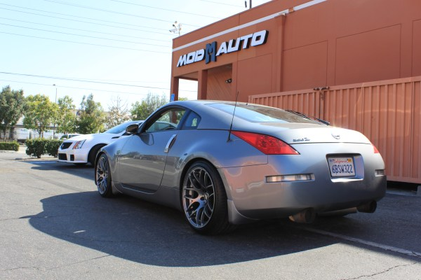 Quick Snap: Z33 350Z Gets WIDE 19×9.5 / 19×11 VMR V710 Wheels @ ModAuto