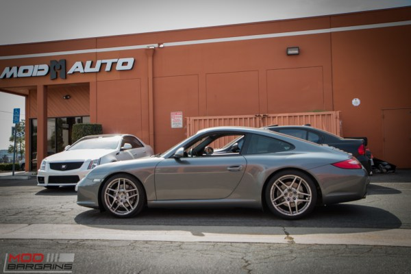 Quick Snap: 997 Porsche Carrera Gets lowered on Eibach Springs