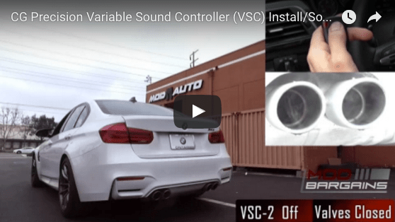 Video Review: Open Your Exhaust when YOU Want on F80 M3 & M4 with the CG Precision Exhaust Controller