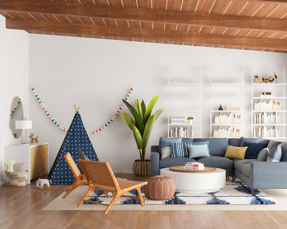 Photos Of Living Room Designs 5 Tips For Designing A Kid Friendly Living Room Modsy Blog