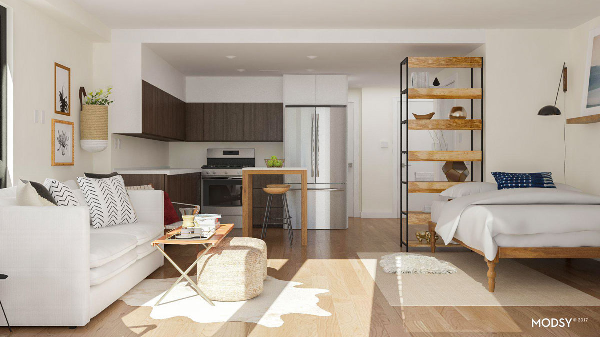 How To Set Up A Studio Apartment Studio Apartment Layout Ideas Two Ways To Arrange A Square Studio