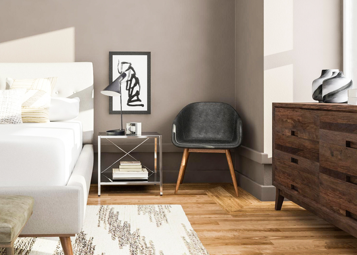 Contemporary Furniture For Small Living Room 7 Mid Century Modern Bedroom Ideas To Try In Your Space