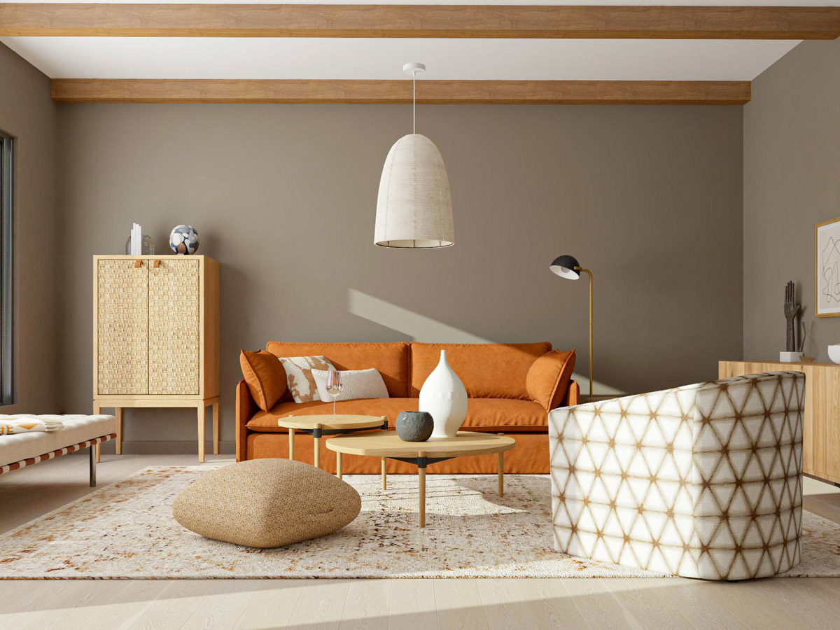 Organic Modern Interior Design In Color How To Get The Look