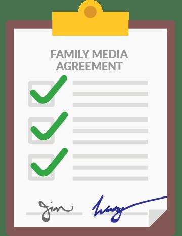 Family Media Agreement by Common Sense Media