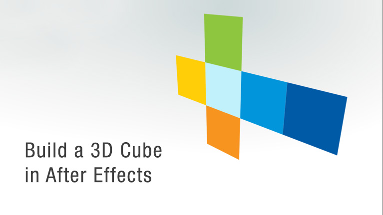 How to make a perfect cube in after effects