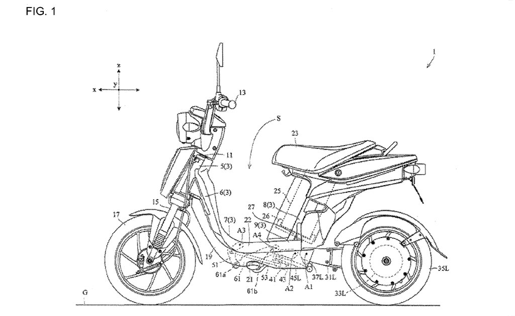 motorcycle battery location