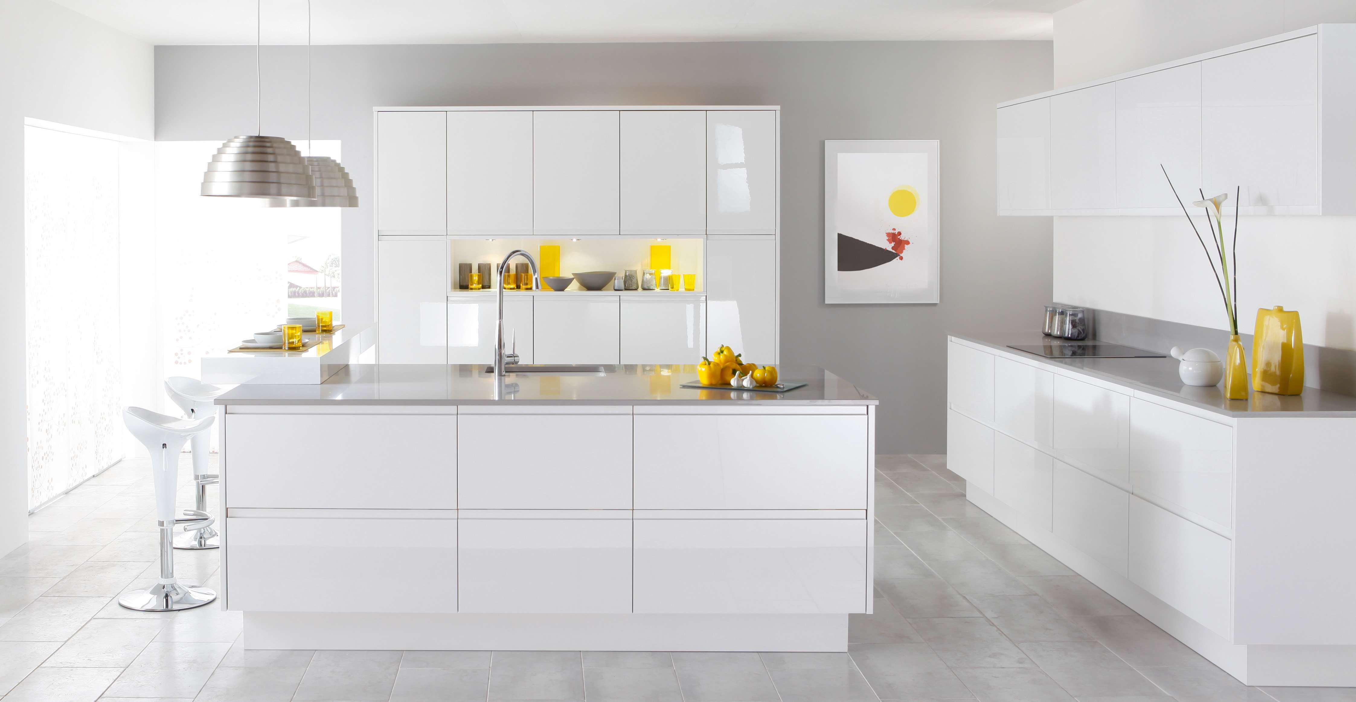 How to Beautify a White Kitchen
