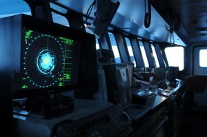 Radar equipment in the control room of a Northeastern Tropical Pacific tuna fishing vessel. © Pacific Alliance for Sustainable Tuna (PAST)