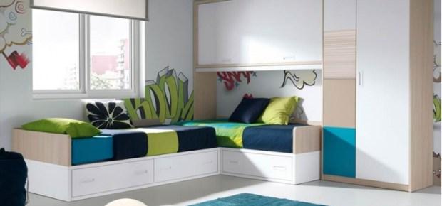 Las camas consejos para amueblar juveniles iii blog for Camas en l juveniles