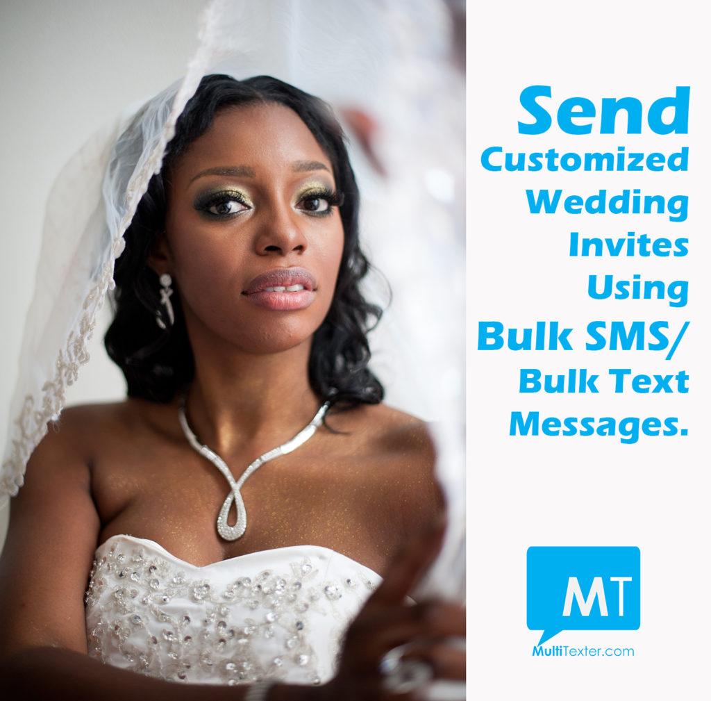 bulk sms for weddings