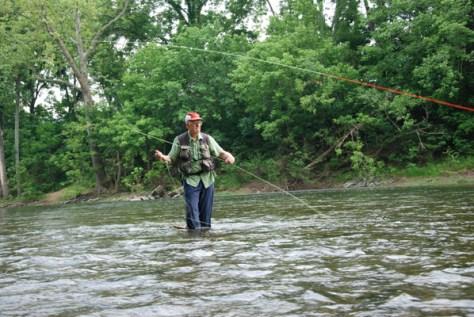 Harry Murray Smallmouth Bass Fly Fishing Murray's Fly Shop VA